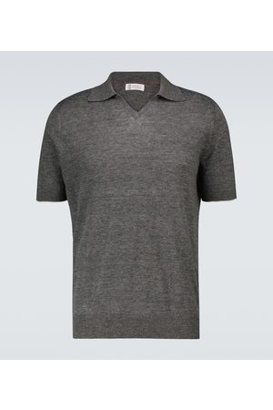 Brunello Cucinelli Fine knitted polo shirt