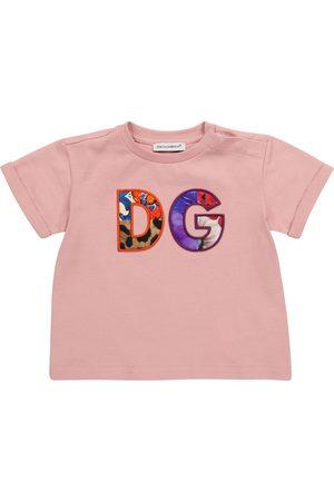 Dolce & Gabbana Baby logo cotton-jersey T-shirt