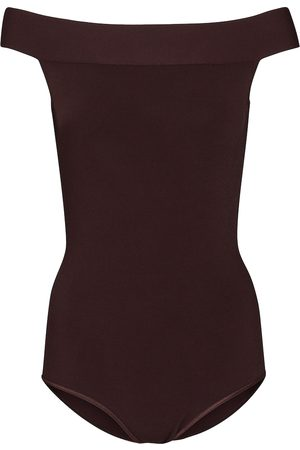 Alaïa Off-shoulder bodysuit