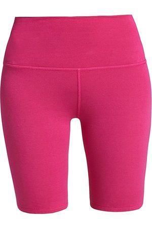 LA DETRESSE Women's Cookies High-Rise Bike Shorts - - Size Medium