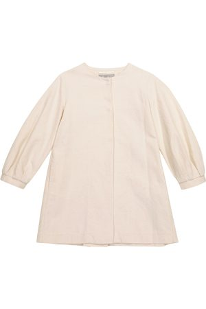 Il gufo Cotton and linen-blend coat