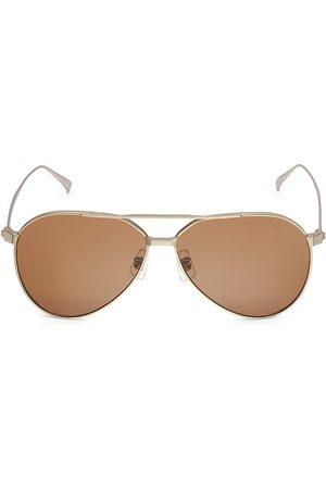 Dunhill Men's 60MM Pilot Sunglasses