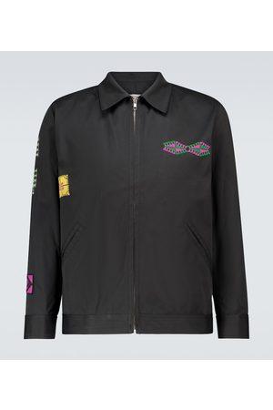 ADISH Makhlut cotton zipped jacket
