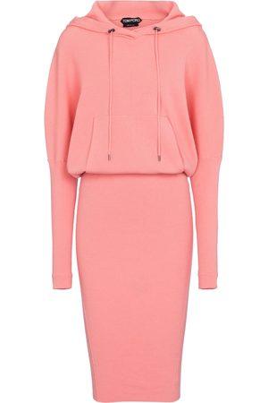 Tom Ford Cashmere-blend sweatshirt dress