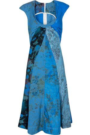 Marine Serre Exclusive to Mytheresa – Printed regenerated cotton minidress