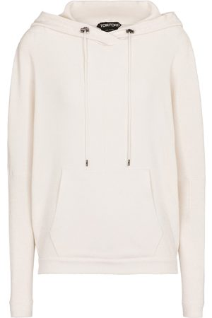 Tom Ford Ribbed-knit cashmere-blend hoodie