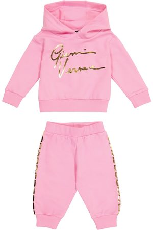 VERSACE Baby GV stretch-cotton tracksuit