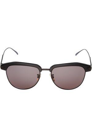 Bottega Veneta Men's DNA 54MM Round Panthos Sunglasses