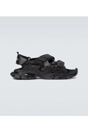 Balenciaga Track strapped sandals