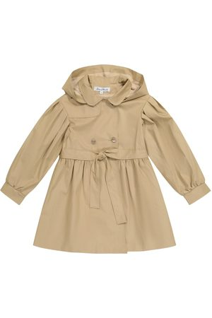 Tartine Et Chocolat Belted cotton trench coat