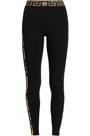 VERSACE Women's Greca Border Leggings - - Size XL