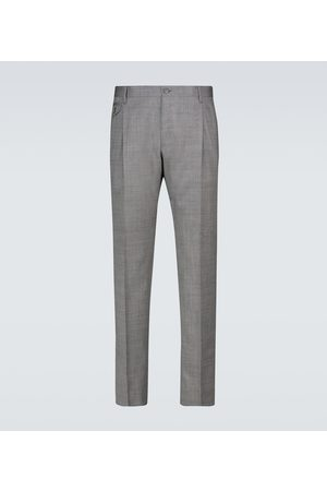 Dolce & Gabbana Double-pleated wool pants