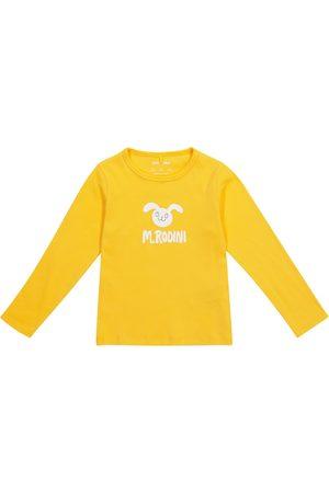 Mini Rodini Rabbit cotton jersey top
