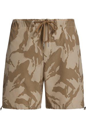 Moncler Men's Bermuda Shorts - Desert Print - Size 46