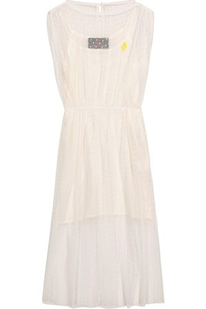 The Animals Observatory Marten point d'esprit tulle dress