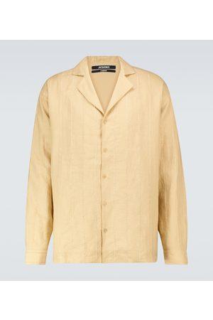Jacquemus La Chemise Raphia shirt