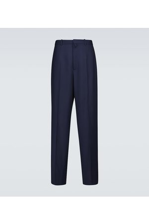 Balenciaga Large fit tailored wool pants