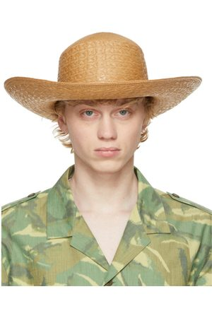 Saint Laurent Straw Maui Hat