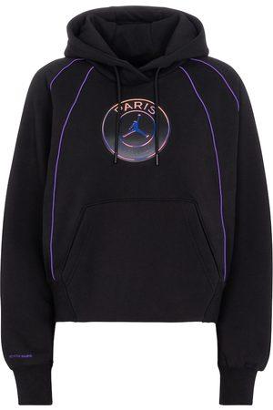 Nike Jordan Paris Saint-Germain cotton-blend hoodie