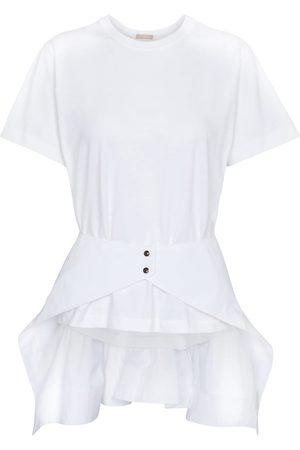 Alaïa Peplum cotton top