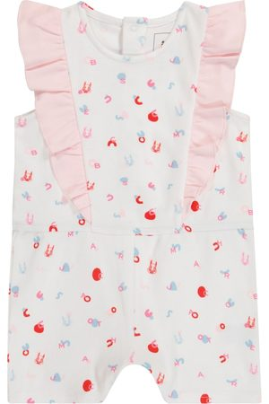 The Marc Jacobs Baby printed cotton playsuit