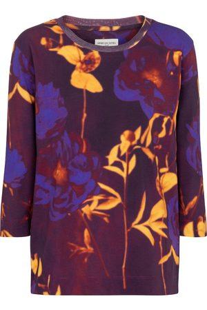 DRIES VAN NOTEN Floral cotton top