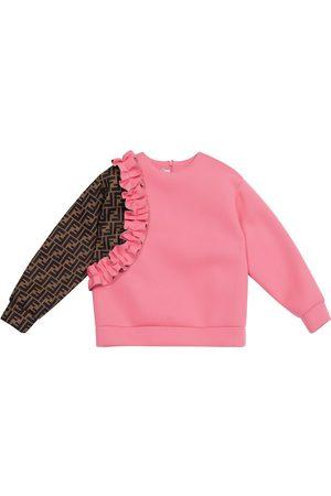 Fendi FF ruffled sweatshirt