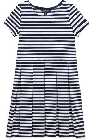Ralph Lauren Striped cotton-blend knit dress