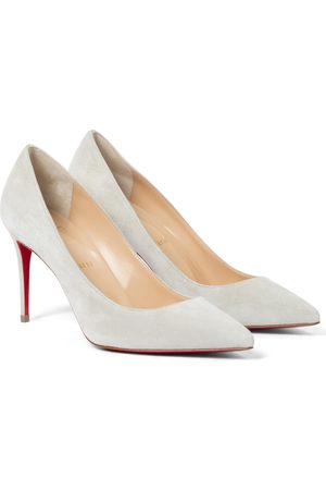 Christian Louboutin Kate 85 suede pumps