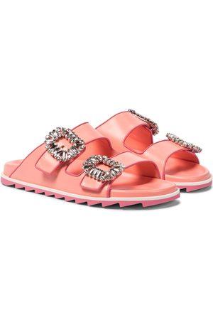 Roger Vivier Slidy Viv' Strass sandals