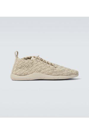 Bottega Veneta Intrecciato grosgrain sneakers