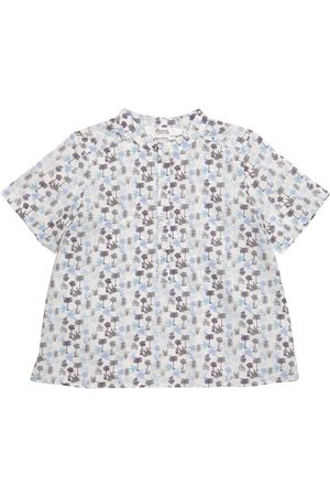BONPOINT Cesar floral cotton shirt