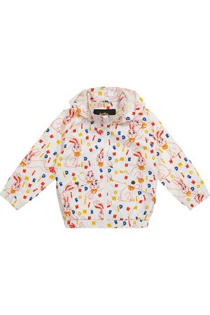 Mini Rodini Rabbit rain jacket