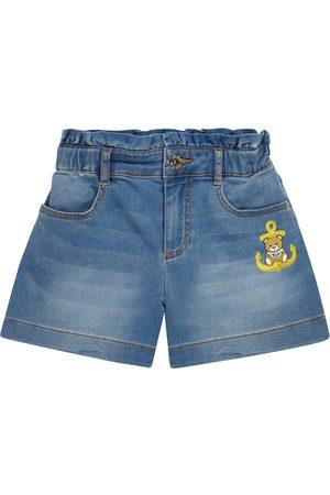 Moschino Stretch-denim shorts
