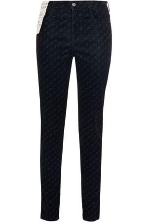 Stella McCartney Woman Monogram-print High-rise Slim-leg Jeans Size 30