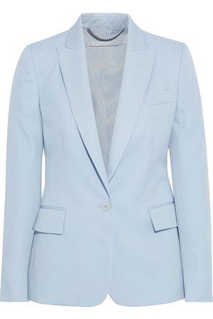 Stella McCartney Woman Ingrid Wool-twill Blazer Sky Size 46