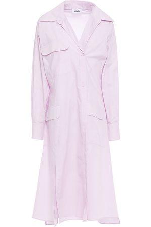 EACH X OTHER Women Casual Dresses - Woman Poplin Shirt Dress Lilac Size L
