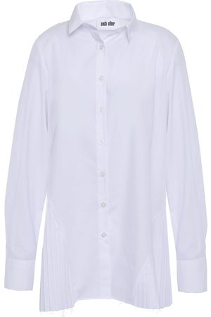 Each x Other Women Long sleeves - Woman Pleated Poplin Shirt Size L