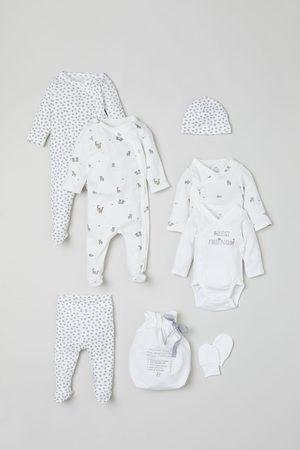 H&M 7-piece Cotton Set