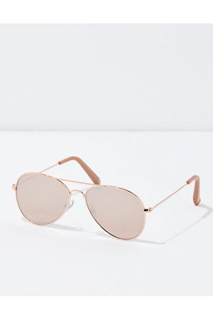 American Eagle Outfitters O Aviator Sunglasses Women's One Size