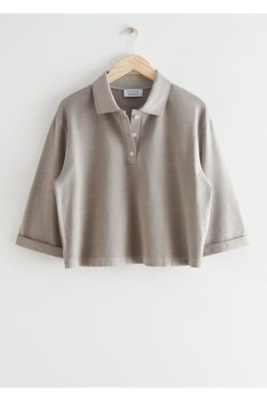 & OTHER STORIES Cropped Polo Top