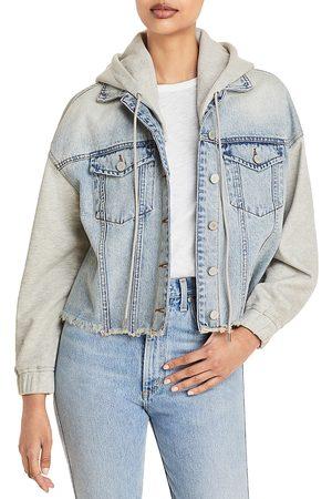 BLANK NYC Layered Look Denim Jacket