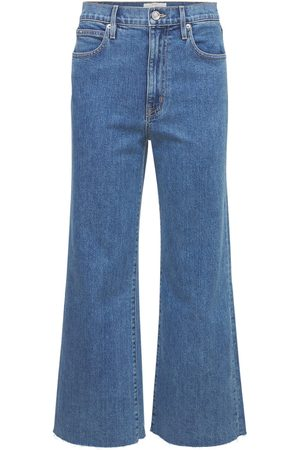 SLVRLAKE Grace Crop High Waist Wide Crop Jeans