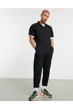 ASOS Denim coveralls in washed