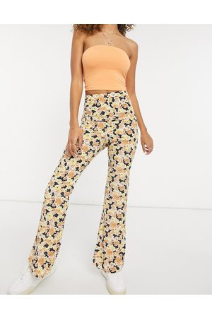 Fashion Union Relaxed wide leg pants in floral - part of a set-Multi