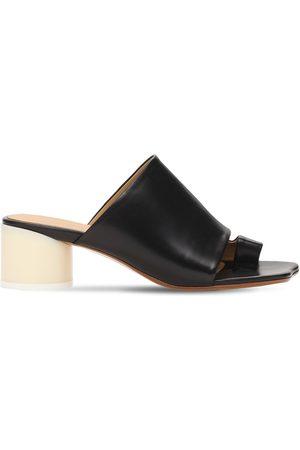 MM6 MAISON MARGIELA Women Sandals - 45mm Leather Thong Sandals