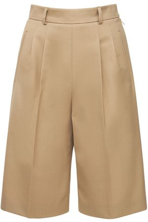 Maison Margiela Wool Blend Bermuda Shorts
