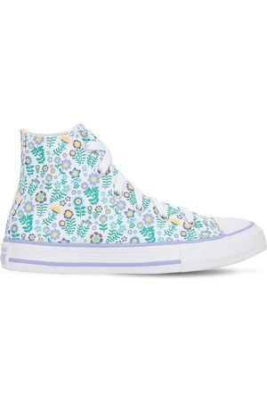 Converse Flower Print Chuck Taylor Sneakers