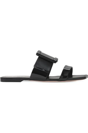 Roger Vivier 10mm Viv In The City Patent Leather Mule