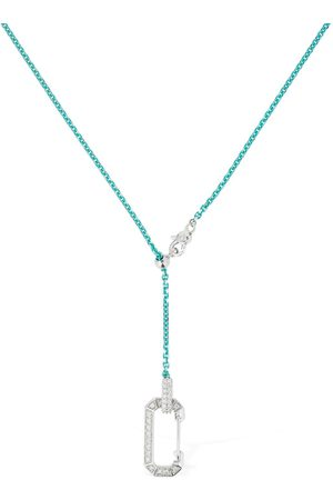 Eera Lucy 18kt Gold & Diamond Long Necklace